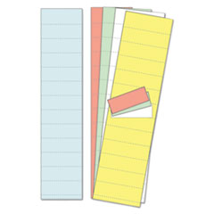 "Data Card Replacement, 2"" w x 1""h, Assorted Colors, 1000/Pack"