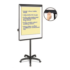 MasterVision® Silver Easy Clean Dry Erase Mobile Presentation Easel Thumbnail