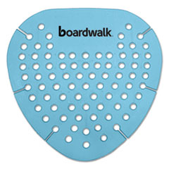 Boardwalk® Gem Urinal Screen, Lasts 30 Days, Blue, Cotton Blossom Fragrance, 12/Box BWKGEMCBL