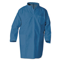 KleenGuard™ A20 Breathable Particle Protection Professional Jacket, Large, Blue, 15/Carton