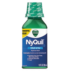 Vicks® NyQuil™ Cold & Flu Nighttime Liquid