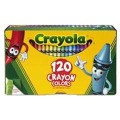 Crayola® Classic Color Crayons, Tuck Box, 120 Colors