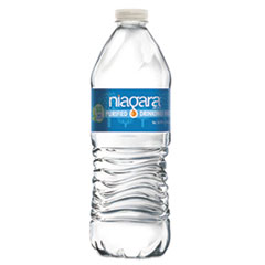 Niagara® Bottling Purified Drinking Water, 16.9 oz Bottle, 24/Pack, 2016/Pallet