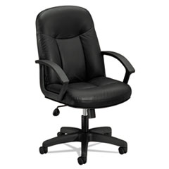 HON® VL601 Series Executive High-Back Leather Chair Thumbnail