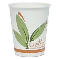 Dart® Bare by Solo Eco-Forward Recycled Content PCF Hot Cups, Paper, 10 oz, 300/Carton