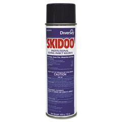 Diversey™ Skidoo Institutional Flying Insect Killer, 15 oz Aerosol, 6/Carton