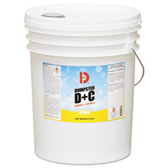 Big D Industries Dumpster D Plus C, Neutral, 25 lb, Bucket