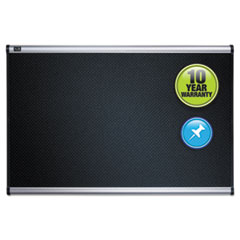Quartet® Prestige® Black Embossed Foam Bulletin Board Thumbnail