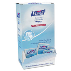 PURELL® Cottony Soft Individually Wrapped Sanitizing Hand Wipes Thumbnail