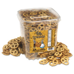 Office Snax® Gretzels, Cinnamon/Honey, 32 oz