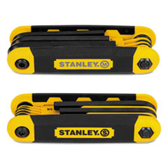 Stanley® Folding Metric and SAE Hex Keys Thumbnail