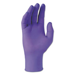 Kimtech™ PURPLE NITRILE Gloves, Purple, 242 mm Length, X-Small, 6 mil, 1000/Carton