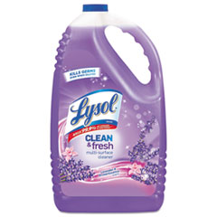 LYSOL® Brand Clean and Fresh Multi-Surface Cleaner, Lavender and Orchid Essence, 144 oz Bottle, 4/Carton