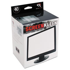Read Right® Two Step ScreenKleen™ Wet and Dry Cleaning Wipes Thumbnail