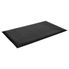 Crown Wear-Bond Comfort-King Anti-Fatigue Mat, Diamond Emboss, 36 x 60, Black