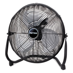 "14"" High-Velocity Floor Fan w/All Metal Construction, Adjustable Tilt, 3-Speed"