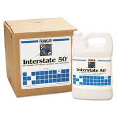 Franklin Cleaning Technology® Interstate 50 Floor Finish, 1gal Bottle, 4/Carton