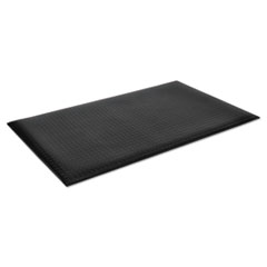 Crown Wear-Bond Comfort-King Anti-Fatigue Mat, Diamond Emboss, 24 x 36, Black