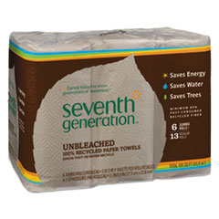 Seventh Generation® Natural Unbleached 100% Recycled Paper Towels