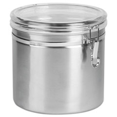 Office Settings Stainless Steel Canisters