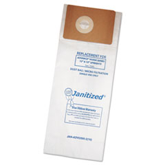 Janitized® Vacuum Filter Bags Designed to Fit Advance VU500/Triple S Triumph, 100/Carton