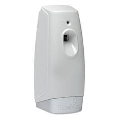 "TimeMist® Micro Metered Air Freshener Dispenser, 3.38"" x 3"" x 7.5"", White"