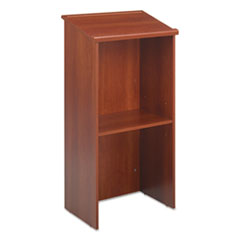 Stand-Up Lectern, 23w x 15-3/4d x 46h, Cherry