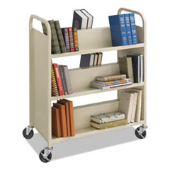 Safco® Steel Book Cart