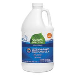 Seventh Generation® Chlorine-Free Bleach, Unscented, 64 oz Bottle, 6/Carton