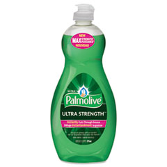 Ultra Palmolive® Dishwashing Liquid, Ultra Strength, Original Scent, 20 oz Bottle, 9/Ctn