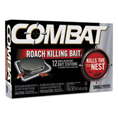 Combat® Small Roach Bait, 12 baits per Pack