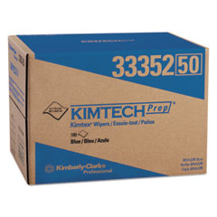 Kimtech™ KIMTEX Wipers, BRAG Box, 12.1 x 16.8, Blue, 180/Box