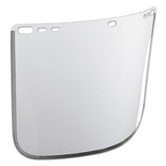 "Jackson Safety* F30 Face Shield Window, 12"" x 8"", Clear, Unbound"