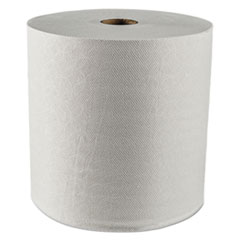 "Scott® Essential Plus Hard Roll Towels, 1.5"" Core, 8"" x 425 ft, White, 12 Rolls/Carton"