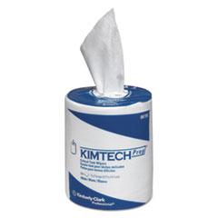 Kimtech™ SCOTTPURE Wipers, 1/4 Fold, 12 x 15, White, 100/Box, 4/Carton