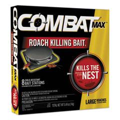 Combat® Roach Bait Insecticide, 0.49 oz Bait, 8/Pack, 12 Pack/Carton