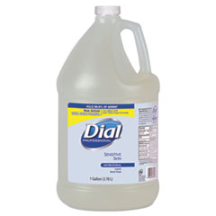 Dial® Professional Antimicrobial Soap for Sensitive Skin, Floral, 1 gal Bottle, 4/Carton