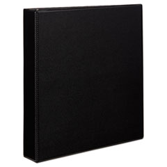 "Durable Binder with Slant Rings, 11 x 8 1/2, 1 1/2"", Black"