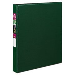 "Avery® Durable Binder with Slant Rings, 11 x 8 1/2, 1"", Green"
