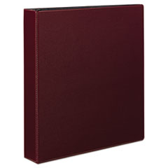 "Durable Binder with Slant Rings, 11 x 8 1/2, 1 1/2"", Burgundy"