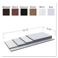 Alera® Reversible Laminate Table Top Thumbnail