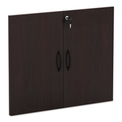 "Alera Valencia Series Cabinet Door Kit For All Bookcases, 31 1/4"" Wide, Mahogany"