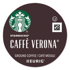 Caffe Verona Coffee K-Cups Pack, 24/Box, 4 Boxes/Carton