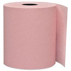 "Iconex™ Impact Bond Paper Rolls, 0.45"" Core, 3"" x 165 ft, Pink, 50/Carton"
