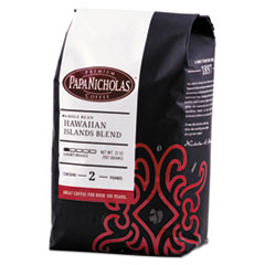 Premium Coffee, Whole Bean, Hawaiian Islands Blend