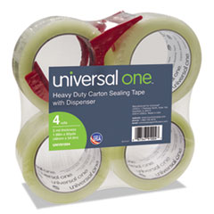 Universal® Heavy-Duty Box Sealing Tape with Dispenser Thumbnail
