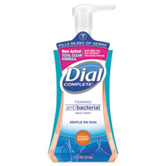 Dial® Antibacterial Foaming Hand Wash, Original Scent, 7.5 oz Pump Bottle