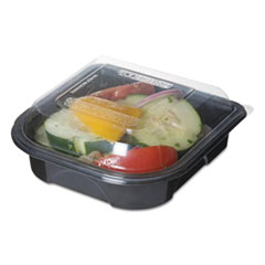 """Eco-Products® 100% Recycled Content 6"""" Premium Take Out Containers, 12.5 oz, 50/Pack, 3 Packs/Carton"""