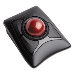 Expert Mouse Wireless Trackball, 2.4 GHz Frequency/30 ft Wireless Range, Left/Right Hand Use, Black