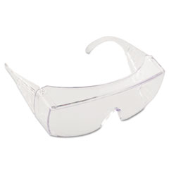 MCR™ Safety Yukon Safety Glasses, Wraparound, Clear Lens